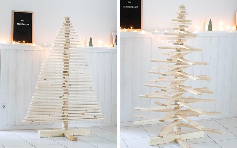 Wie Entstand Der Weihnachtsbaum.Diy Weihnachtsbaum Aus Holz Tipps Zum Selbermachen Simply